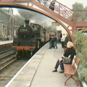 """North Yorkshire Moors Railway"", U.K."
