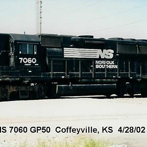 GP50 on the Kansas Plains
