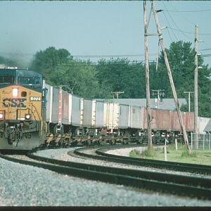 CSX Eastbound Q138 at Tiffin, OH
