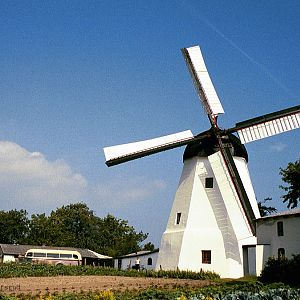 A windmill, old style