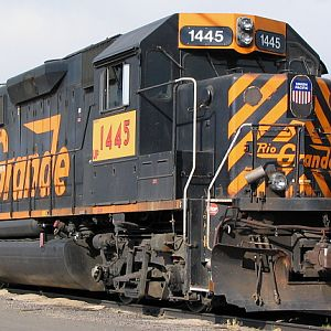Up 1445 Ex Rio Grande Unit#3129