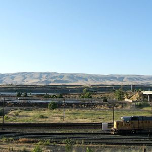 The Dalles switcher.