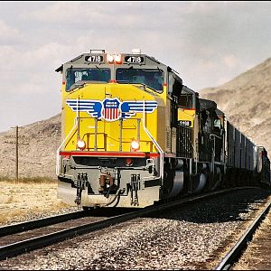 UP manifest at Erie,NV.