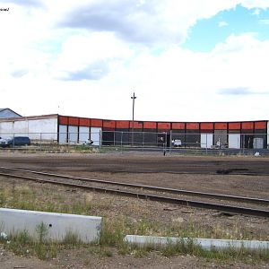 CP Sutherland roundhouse