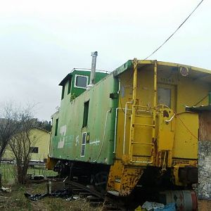 The Little Green Caboose