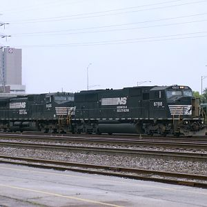 NS Manifest at the TRRA Yard