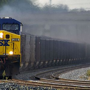 CSX coal north bound, Marion Ohio