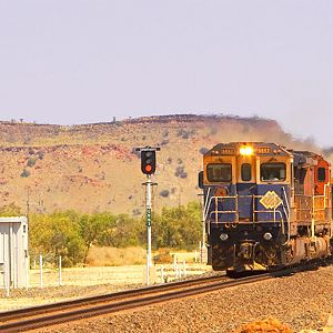 BHP Billiton, Mt Newman Railway