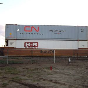 New CN container