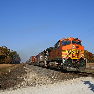 BNSF 5178 at Coal City