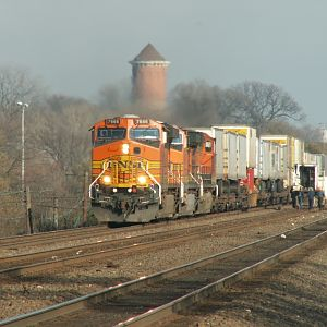 BNSF 7666 Goes West