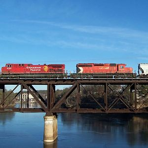 CP 9704 crosses the Wisconsin River