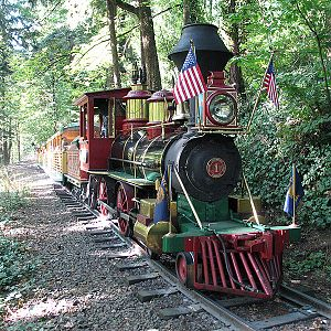 Washington Park & Zoo Railway #1