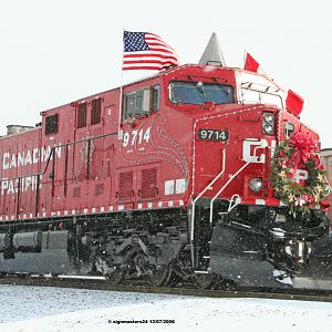 CP Holiday Train Elkhart, IN