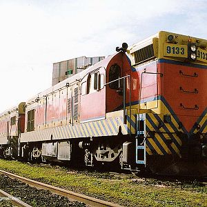 Locomotives in Mayrink 83