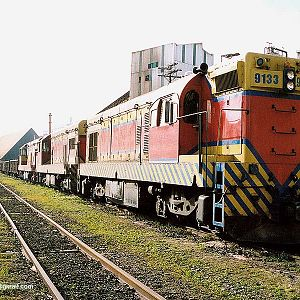 Locomotives in Mayrink 84