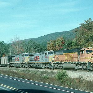 Railfan Friendly Route