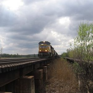 Union Pacific on the Water Level Route