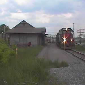 NYS&W at Tully station