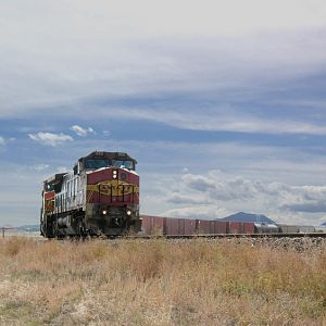 Mixed Manifest Northbound by Spanish Peaks