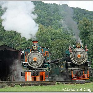 Both Sisters Under Steam