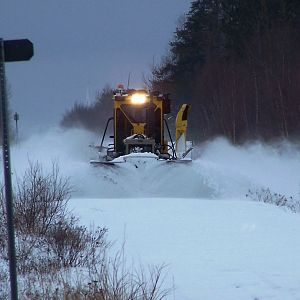 Plowing the way 2007!