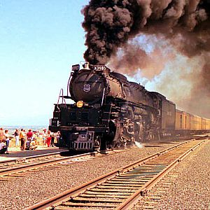 "UP #3985 ""Steam Show 1982"" Salt Lake to Provo RT"