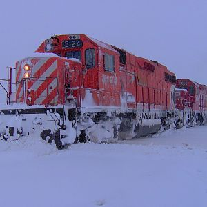 Who needs a snow plow i have a gp38