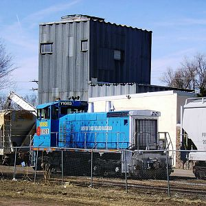 Denver Industrial Switcher Waiting For Next Job