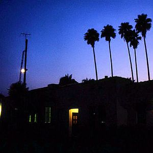Santa Fe Depot at Night