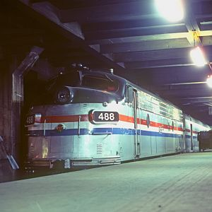 Amtrak FL-9 #488, New York City, NY, June, 1980, photo by Chuck Zeiler