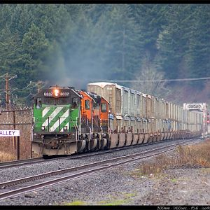 BNSF in Columbia River Gorge