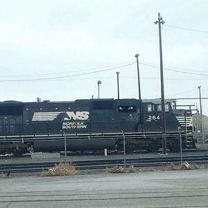 Norfolk Southern SD70M in Laurel, Mt?!?!