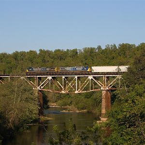 Bridge over the Mulberry Fork on the CSX S&NA Sub