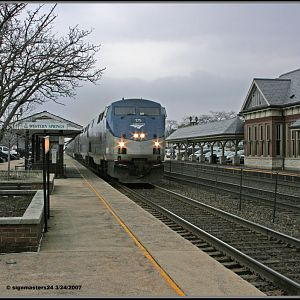 Western Springs, IL Amtrak 175