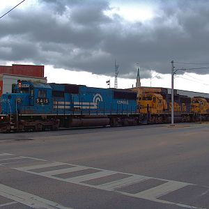 NS 334 Heading East At Alex City