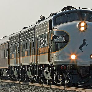 NS Office Car Special #951 train 4270