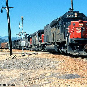Southern Pacific Takes the Cutoff - 1984