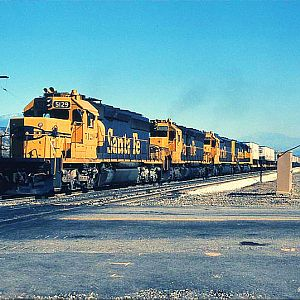 Blue and Yellow through Devore