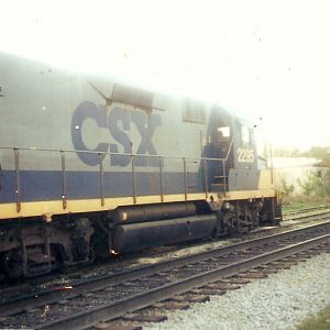 CSX Locomotives on the CSX Memphis Leewood Subdivision