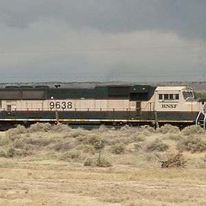 BNSF 9638 SD70MAC Trinidad CO