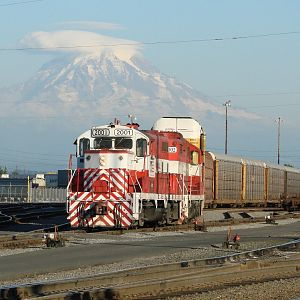 Switching Under Mount Rainier