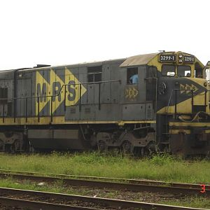 GE U23-C #3299-1 MRS Logstica (photo 2)
