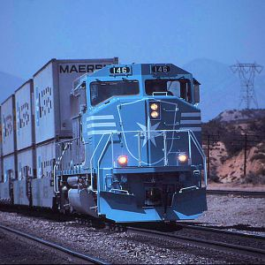 Maersk Movie Train/Martinez Spur