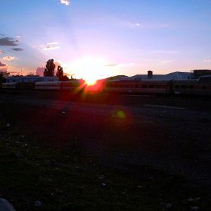 Williams, AZ Station Sunset