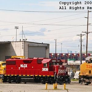 HLCX & UP @ Coast Engine and Equipment Co. (CEECO)