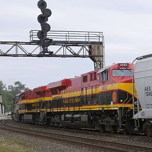 New KCS Locomotives