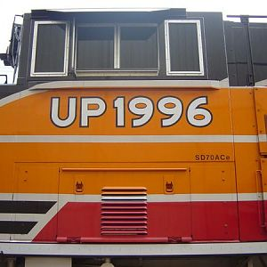 UP 1996 Heritage