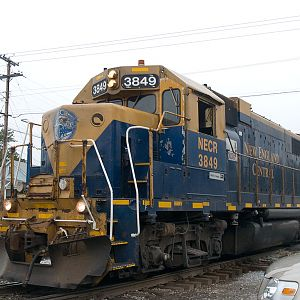 NECR 3849 leads the chip train