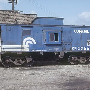 Conrail #23660, location unknown, August 1981, photo by Chuck Zeiler